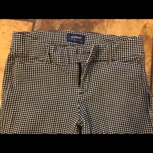 Gingham pixie pants